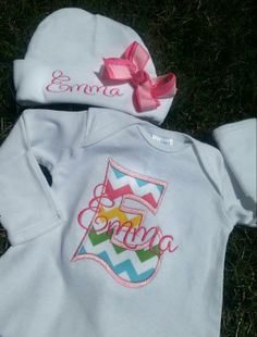 Applique font is BIG by 8claws and Emma is Denise font also by 8claws