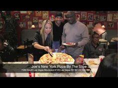 Best Calzone in Las Vegas; Joe's New York Pizza By The Slice