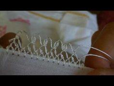 Aynur Şimşek İğne Oyası 7. Video Çiçek Yapımı - YouTube