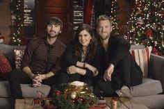 "Which song with this trio perform from their new Christmas Album ""On This Winter's Night""? To find out, watch CMA Country Christmas on Dec. 20th at 9/8c on ABC!"
