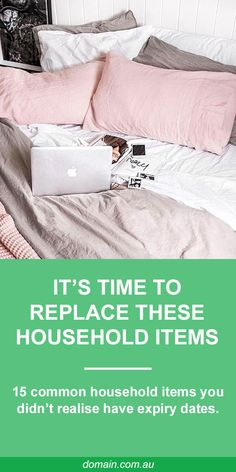 You know when to replace the milk, but how about these common household items? While it's not as clear cut as with your groceries, furniture and accessories need replacing too.  New Year, new beginnings, and a new reason to purge!