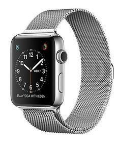 Apple Watch SERIES 2 Stainless steel 42mm (Stainless Steel Case with Milanese Loop) >>> You can find more details by visiting the image link.