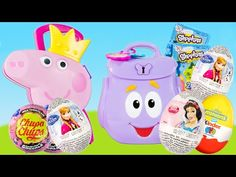 Peppa Pig Maleta de Jóias e Cabeleireira. Princess Peppa Pig Jewelry and Hair Case Brinquedos Toys - YouTube