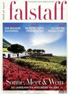Sonne, Meer & Wein. Gefunden in: falstaff, Nr. 5/2016