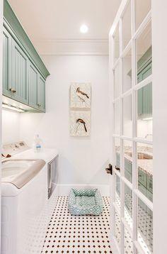 laundry room | WeldenField and Rowe Custom Homes