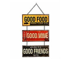 Placa Decorativa Bleme Good - 33X63cm