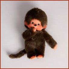Monchichi monkey