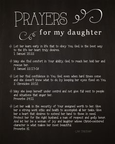Seeking scripture to aid in fighting for your daughter& heart? This is a free & Prayers for My Daughter& printable, originally written by Lysa Terkeurst. Prayers For My Daughter, Mother Daughter Quotes, To My Daughter, Beautiful Daughter Quotes, Mother Daughters, Grandmother Quotes, Teenage Daughters, Power Of Prayer, My Prayer