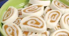 My mother made these frequently! No wonder I have a sweet tooth… Peanut Butter Pinwheels 16 oz. powdered sugar 1 1/2 cups powdered sugar (to keep dough from sticking to paper) 1/2 cup soften…