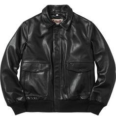 Supreme®/Schott® Leather A-2 Flight Jacket