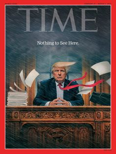 """This will be the defining image for the """"Trump Presidency"""". May it be measured in weeks vs. years."""