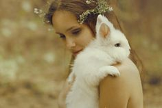 """(by Katerina Plotnikova)- """"Rabbit in the Underworld is therefore representative of using one's intuition: knowing how to get around 'in the dark' and being comfortable traveling in 'unmarked territory'. By default, it can also denote having or developing trust in the """"Inner Light."""" Rabbit does not need an outside source to illuminate his way. His connection to the Collective Energy maintains his pathway."""""""