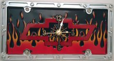 "1 , Bow Tie Clock, on a, "" ,CHEVY BOW TIE, in, FLAMES, "", Metal Sign, on, Metal, Slotted Rim, Frame,,27B5.1&6A2.8,,,SHIPPED USPS,,,, ASTRODEALS,http://www.amazon.com/dp/B00HL1JHTG/ref=cm_sw_r_pi_dp_QcQ9sb11PQ8XKHPF"