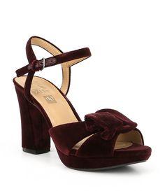 bbc59a913c70 Shop for Naturalizer Adelle Velvet Block Heel Dress Sandals at  Dillards.com. Visit Dillards