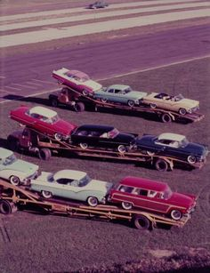 Some Fords on delivery