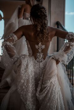 gown wedding dress by Galia Lahav. A Latin Queen - exquisite back detailing Ball gown wedding dress by Galia Lahav. A Latin Queen - exquisite back detailing.Ball gown wedding dress by Galia Lahav. A Latin Queen - exquisite back detailing. Wedding Dress Trends, Gorgeous Wedding Dress, Dream Wedding Dresses, Bridal Dresses, Gown Wedding, Civil Wedding, Queen Wedding Dress, Wedding Ideas, Queen Dress