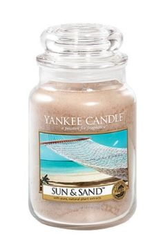Sun and Sand 22 oz. Classic Candle by Yankee Candle is a tropical beach breeze of sweet orange flower, lemony citrus, fresh lavender and powdery musk.  These long-burning candles deliver 110-150 hours of enjoyment and make an ideal gift for any occasion!