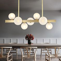 HADLEY Chandelier — Best Goodie Shop #HADLEY #chandeliers #interiorlighting #lightingdesign #lightfixtures #homedecor #lightingideas #lightinginspiration #bestgoodieshop #farmhousechandelier #decorativechandelier #roomchandeliersbedrooms #colorfulchandelier #roomswithchandeliers #chandelierlivingroom #chandelierideas #kitchenchandelierideas Cheap Chandelier, Globe Chandelier, Chandelier Pendant Lights, Modern Chandelier, Crystal Chandeliers, Pendant Lamp, Copper Dining Room, Dining Room Lighting, Dining Room Ceiling Lights
