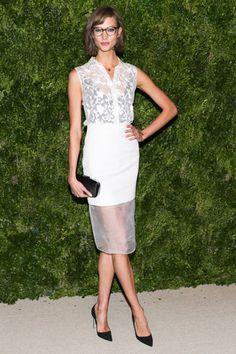 Karlie Kloss in Cushnie et Ochs- Best-Dressed List: November 16th, 2012