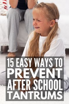 15 Ways to Prevent After School Tantrums | If your kids are prone to after school meltdowns, this post explains what causes tantrums, common meltdown triggers, as well as some great coping strategies for kids and parents to help prevent after school emotional meltdowns. Perfect for kids of all ages and abilities, especially kids who are easily overwhelmed due to autism, sensory processing disorder, ADHD, etc., these tips help improve self-control and self-regulation for a smoother evening! Autism Education, Autism Classroom, Autism Sensory, Autism Activities, Autism Behavior Management, Adhd Odd, Autism Quotes, Self Regulation, Sensory Processing Disorder