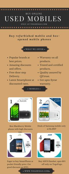 Laptops Online, Used Mobile Phones, Certified Pre Owned, Mobiles, 1 Year, Cod, Smartphone, India, Free Shipping