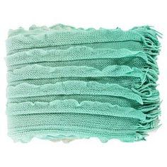 """Surya Toya Toss Pillow - Mint (50"""" x 60"""")"""