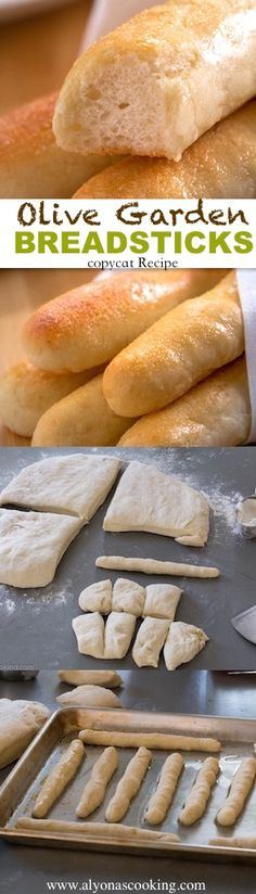 THE BEST Replica Breadsticks from all the ones I have ever made! olive-garden breadsticks copycat recipe!