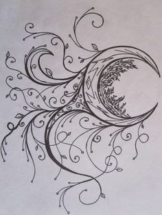 This is something I had to do for my drawing class. It's supposed to be a tattoo design. Yeah I kinda like it.
