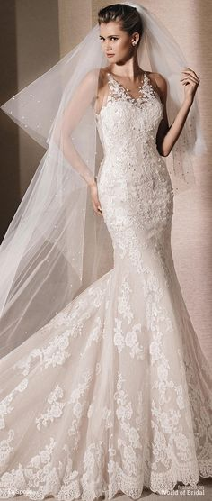 La Sposa 2016 mermaid wedding dress