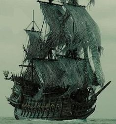 """""""The Flying Dutchman was an infamous supernatural ghost ship. Originally, the Dutchman held the sacred task of collecting all the poor souls who died at sea and ferrying them to the afterlife. During the Age of Piracy, the Dutchman would become a ship feared by many across the seven seas."""""""