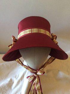 facdfc4cac31db Regency Poke Bonnet. Jane Austen. CUSTOM MADE. 'HARRIET' Your choice of  colour/trims/fabric.