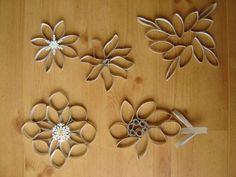 Paper Roll Flowers 3