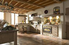 AURORA Cucine country kitchens, model Iris Intonacato. Not bad, huh?