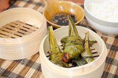kurczak zawijany tajski