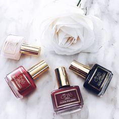 Instagram flatlay fashion, Ciate nail polish, Olivia Palermo, fashion, fashion blogger, plus size, curvy fashion blogger