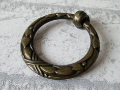 LynnsGraceland - Vintage Look Drawer Pulls Knobs Ring Antique Bronze, $4.50 (http://lynnsgraceland.mybigcommerce.com/vintage-look-drawer-pulls-knobs-ring-antique-bronze/)