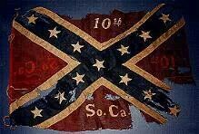 First Battle flag used in the War between the states..held in state capital bldg Columbia