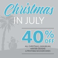 JMRush Designs: Silhouette is running their Christmas in July sale...