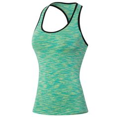 Women's Compression Base Layer Vest Workout Gym Yoga Sleeveless Sports Top Tank