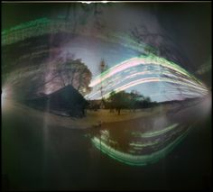 batuda posted a photo: Solargraphy on pond. Camera: beer can Paper: Kodak Polymax RC, 16x18cm Exposure: 2016-09-04 --> 12-26 Developer: none Scanner: Epson 4490photo