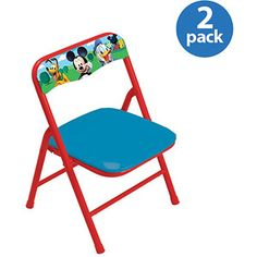 Disney - Mickey & Friends Activity Chairs, Set of 2