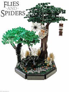 Flies and Spiders by Blake's Baericks, via Flickr