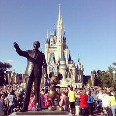 Esse lugar é mesmo #mágico #Disney (em Disneyworld)