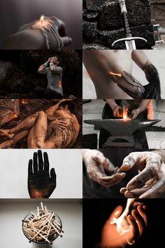 — skcgsra:   hephaestus/vulcan aesthetic (more...