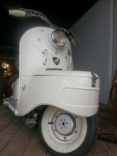 1950s Peugeot scooter
