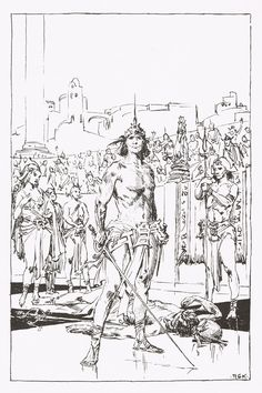 Cap'n's Comics: King Kull by Roy Krenkel