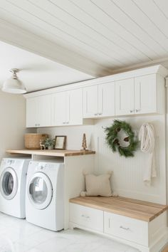 laundry room ideas, laundry room organization, laundry room design, laundry room decor ideas laundry Best Laundry Room Decorating Ideas To Inspire You - Page 28 of 53 - VimDecor Mudroom Laundry Room, Laundry Room Remodel, Laundry Room Cabinets, Farmhouse Laundry Room, Laundry Room Organization, Laundry Room Design, Laundry In Bathroom, Organization Ideas, Storage Ideas