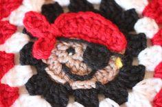 Pirate Granny Square (pattern) ARRRRRRRRR