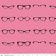Geekly Chic quilt or craft fabric by Riley Blake by fabricshoppe, $10.50