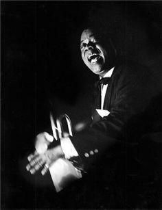 Herman Leonard | Louis Armstrong, Paris, France, 1960